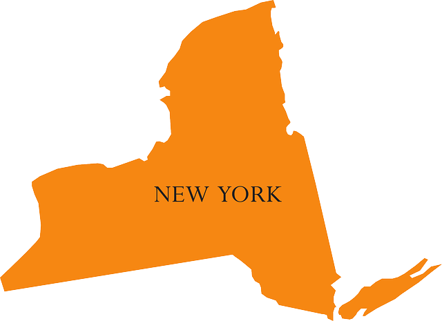 Map of NY